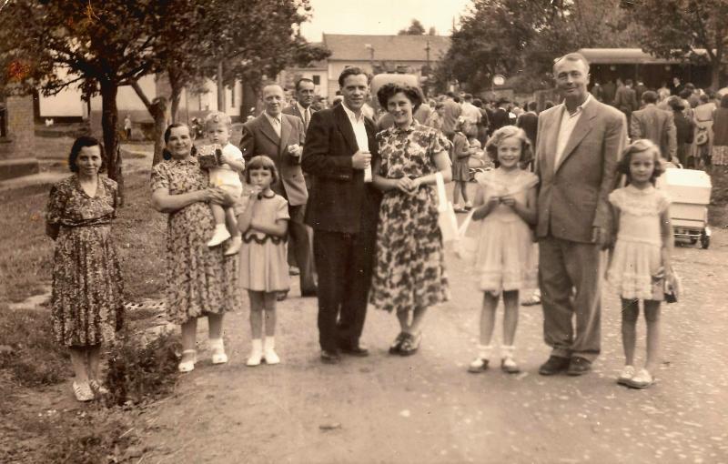 Hody v Seloutkách, kolem roku 1950