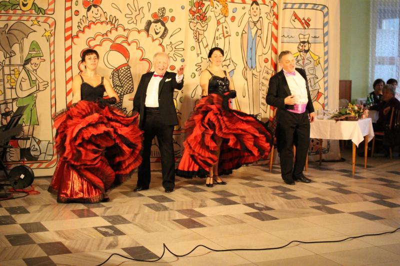 Vystoupení umělců ze Slezského divadla z Opavy